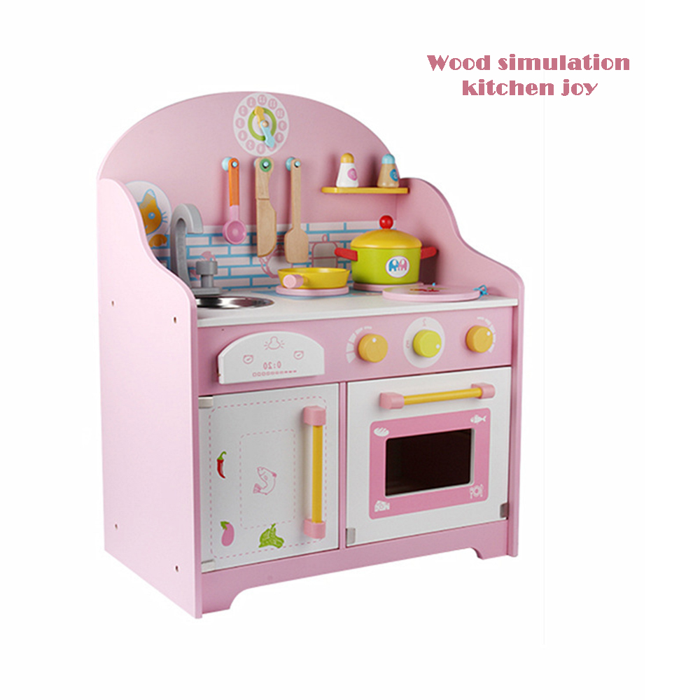 New Japanese-style Simulation Kitchen 2-5 Years Old Baby Play House Stove Children Simulation Furniture Toys Kitchen Toys Set