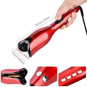 Image 5 - מקצועי סלון רב פונקצית LCD מסך קרלינג ברזל שיער Curler סטיילינג כלי רולים להסס תלתל אוטומטי מתולתל ברזל 20 #82