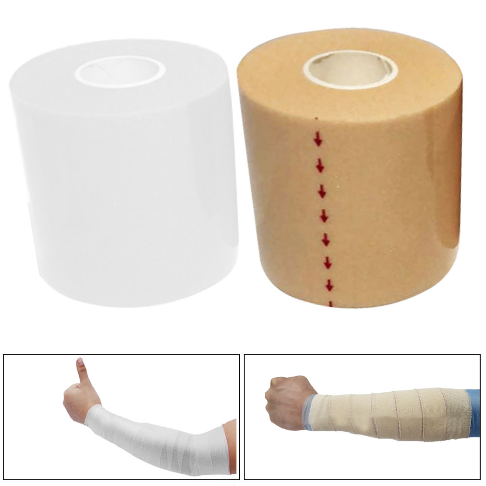 Practical Elastic Bandage Treatment Self Adhesive Knee Easy Apply Ankle Sports Protector Wrap Tape Elastoplast Sponge First Aid