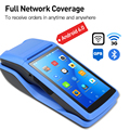 Android 6.0 NFC PDA POS Erhalt Bluetooth Drucker PDA Thermische Drucker 58mm Handheld POS Handheld terminal WIFI Bluetooth 3G PDA