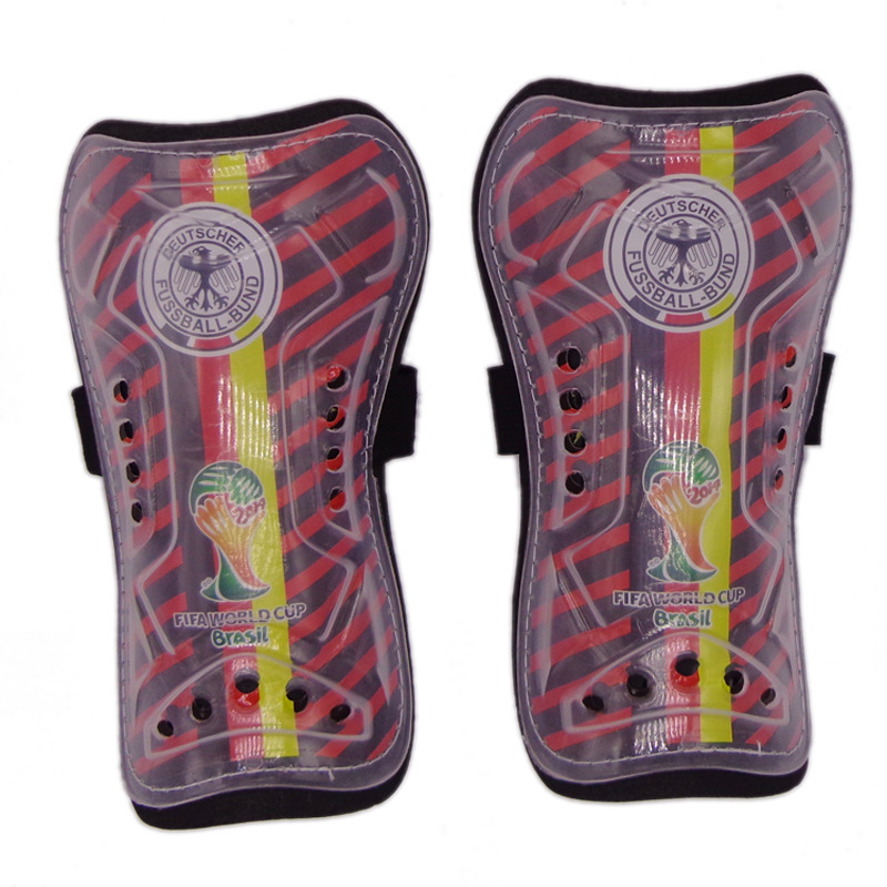 Manufacturers Transparent Case Logo Bandage Cloth Football Shin Pads Sport Ware Small Wholesale