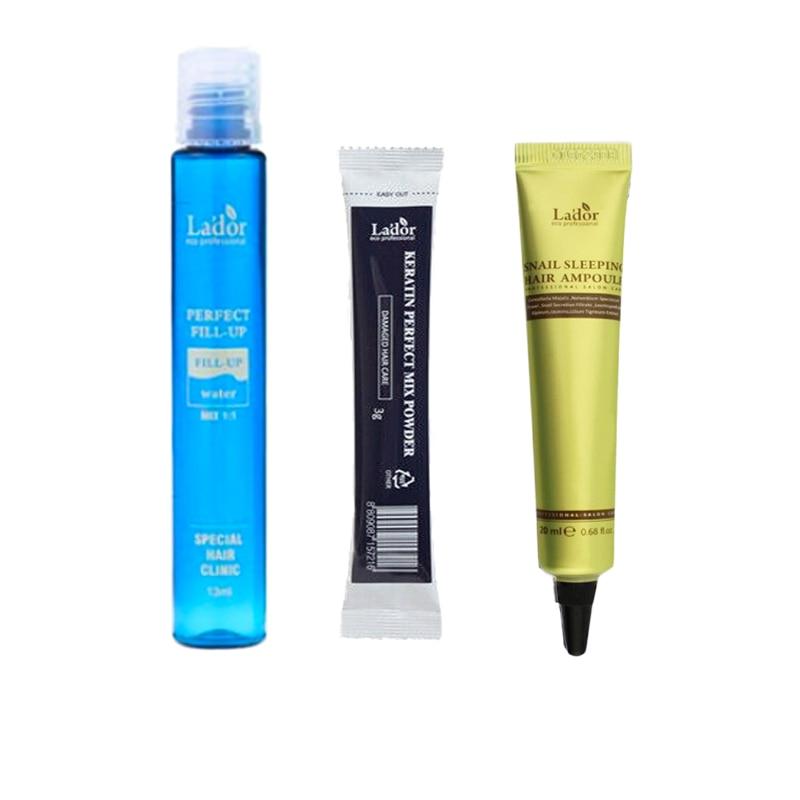 LADOR Perfect Hair Fill-up 13ml Keratin Hair Treatment Serum Collagen Repair Hair Care Anti Hair Loss Product Korea Cosmetics