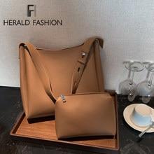 Luxe Merk Schoudertassen Voor Vrouwen 2021 Pu Lederen Crossbody Messenger Bag Trend Mode Onderarm Emmer Bag Vrouwelijke Sac Een belangrijkste