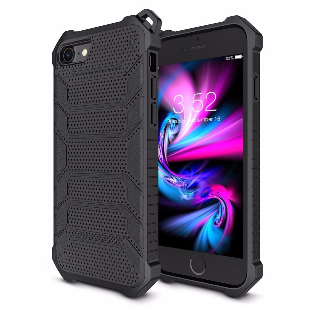 Luxury Dual Layer Rugged <font><b>Armor</b></font> Phone <font><b>Case</b></font> <font><b>For</b></font> <font><b>iphone</b></font> X 8 7 6 S 6S Plus Heavy Duty <font><b>Shockproof</b></font> Protective Cover <font><b>For</b></font> iphone8 7Plus image