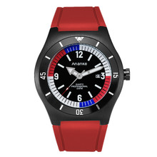 Watch Silicone Gifts Quartz Men's Casual with Fitness Student Sport Buckle Alloy Calendar