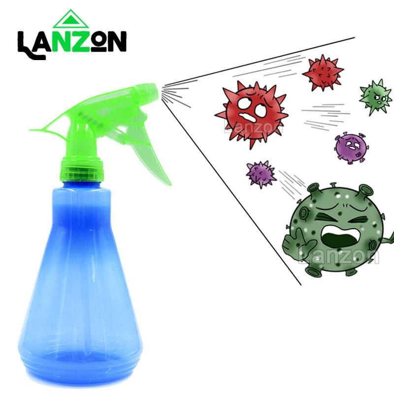 400ml Reusable Spray Bottles for Disinfectant Cleaner Sanitizer Epidemic Coronavirus Bottle Plants Flowers Water Trigger Sprayer