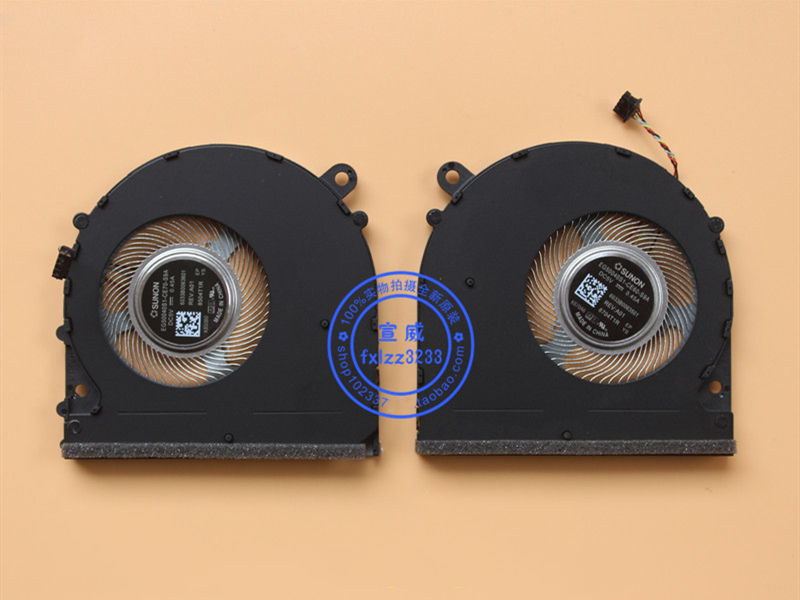 "New CPU GPU Cooler Fan For Xiaomi Mi Air 15.6"" PRO PRO15.6 GTX 171501-AF AQ EG50040S1-CE60-S9A EG50040S1-CE70-S9A Radiator"