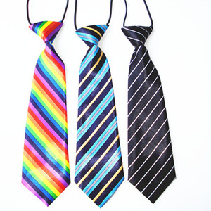Image 5 - 100PC/Lot Stripes Large Dog Ties For Big Dogs Neckties Bow Ties Dog Grooming Accessories Pet Supplies
