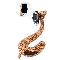 Espuma de memória em forma de u travesseiro de viagem pescoço suporte cabeça resto suporte do telefone