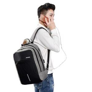 Image 5 - UOSC Männer Multifunktions Anti Diebstahl Rucksack 2019 Neue USB Lade Rucksäcke Wasserdichte Schul Business Reisetaschen
