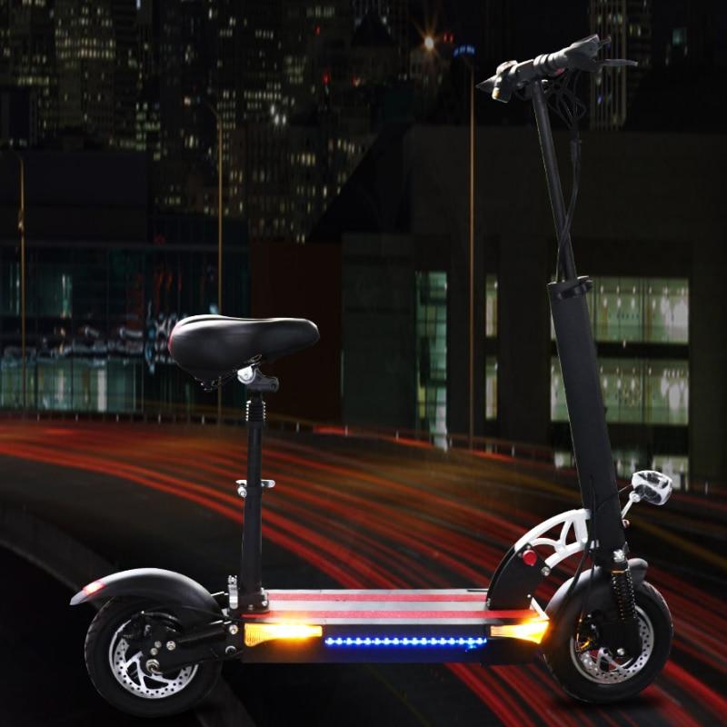 Escooter-Patinete eléctrico para adultos, scooter Eléctrico de 90KM, 800W, 26AH