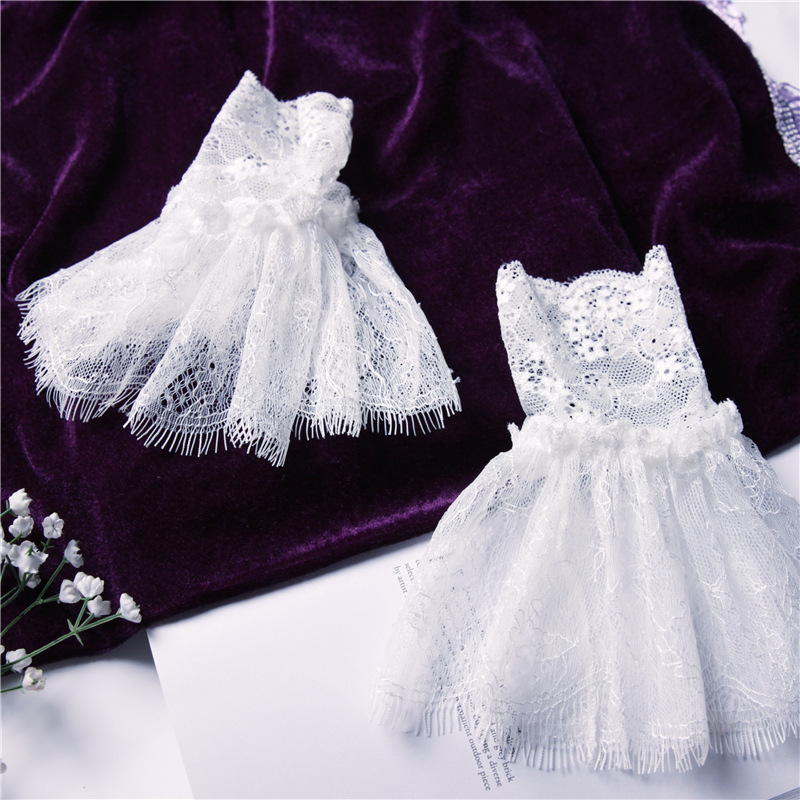2020 Hot Sale Lace Lace Pleated Ruffled White Eyelashes Fake Cuffs Fake Sleeves