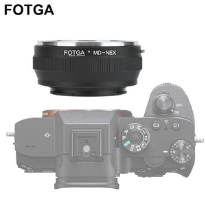 Image 2 - FOTGA MD NEX Lens Adapter Ring For Minolta MD lens to For Sony NEX mirrorless camera Mount Adapter Ring
