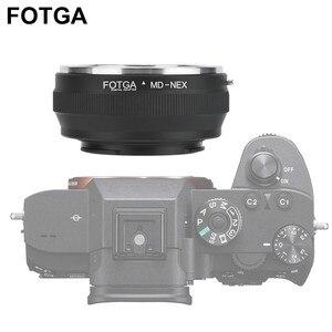 Image 2 - FOTGA anillo adaptador de lente MD NEX para lente Minolta MD, para Sony NEX, anillo adaptador de montura de cámara sin espejo