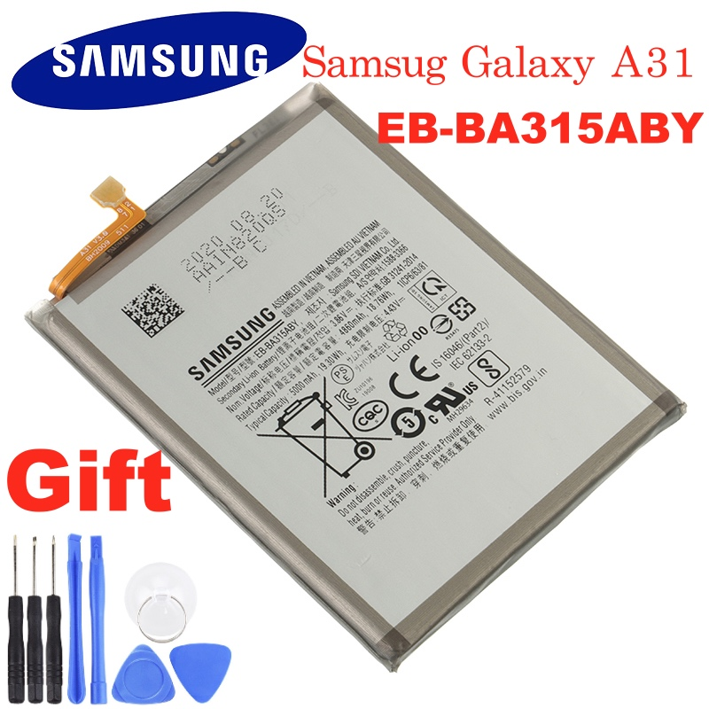 Original Battery Phone EB-BA315ABY SAMSUNG Galaxy Ce for Replacement Authentic 5000mah
