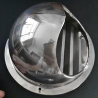 스테인레스 스틸 배기 팬 벽 마운트 셔터 환기 공기 환기 후드 덕트|에어컨 커버|   -