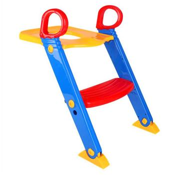 Kidlove Children Folding Toilet Ladder Baby Toilet with Pedal Adjustable Version 2