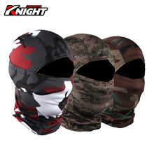 HEROBIKER-mascarilla facial para motociclista, máscara de protección facial de camuflaje para Motocross