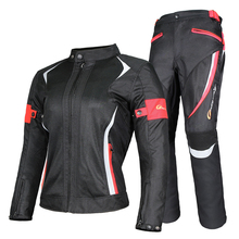 Riding Tribe Motorcycle Jacket Motorcycle Pants Windproof Waterproof Women's Motorcycle Protective Gear Suit Biker Clothing Set
