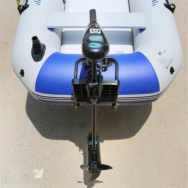 Gommone Propulsore Motore Staffa 12V Propulsore Elettrico Staffa Gonfiabile Barca Kayak Motore Accessorio Barca A Remi Accessorio
