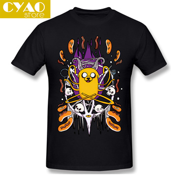 Adventure Time Finn And Jake Satanic 666 T Shirts Skull... adventure time backpack with finn and jake cn bmo backpack beemo be more cartoon robot high grade pu green