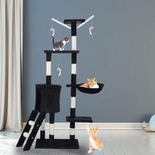 Arbre à chat multifonctionnel, jouet amusant à gratter, poste d'escalade, Centre d'activité, protection des meubles de maison, maison pour animaux de compagnie