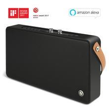 GGMM altavoz inteligente E5 con WiFi, inalámbrico por Bluetooth, altavoz portátil de graves pesados de 20w para teléfono, AirPlay, DLNA, Spotify