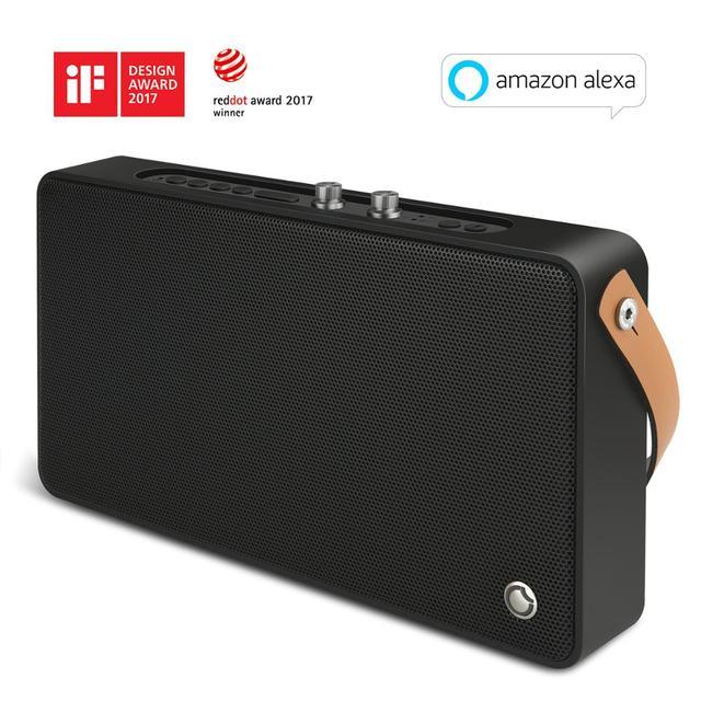 Ggmm alexa で E5 wifi スマートスピーカーワイヤレス bluetooth スピーカー 20 ワットポータブル重低音スピーカー電話エアプレイ dlna live365