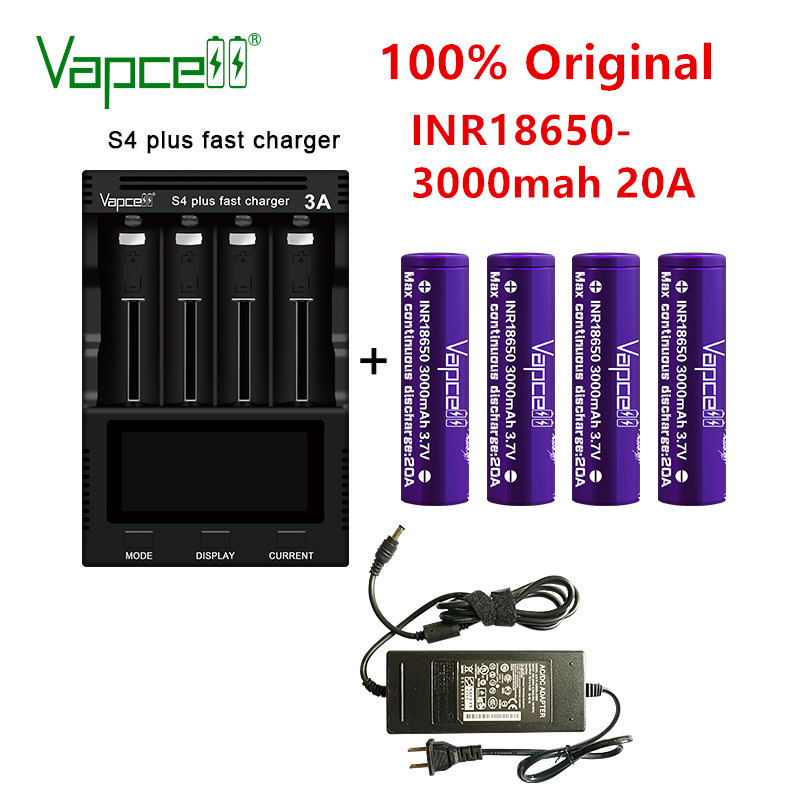 4x 18650 Cells 500-1100mah Tested