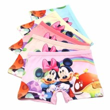 10 Pcs/lot Cartoon Mickey Kids Underwear Baby Girls Briefs High Quality Underpants Short Panties Children Soft Breathable 3-10t