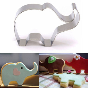 Animal Elephant Shape Biscuit Cookie Cutters Cake Decorating Tools Candy Sugarcraft Chocolate Baking Molds Confectionary