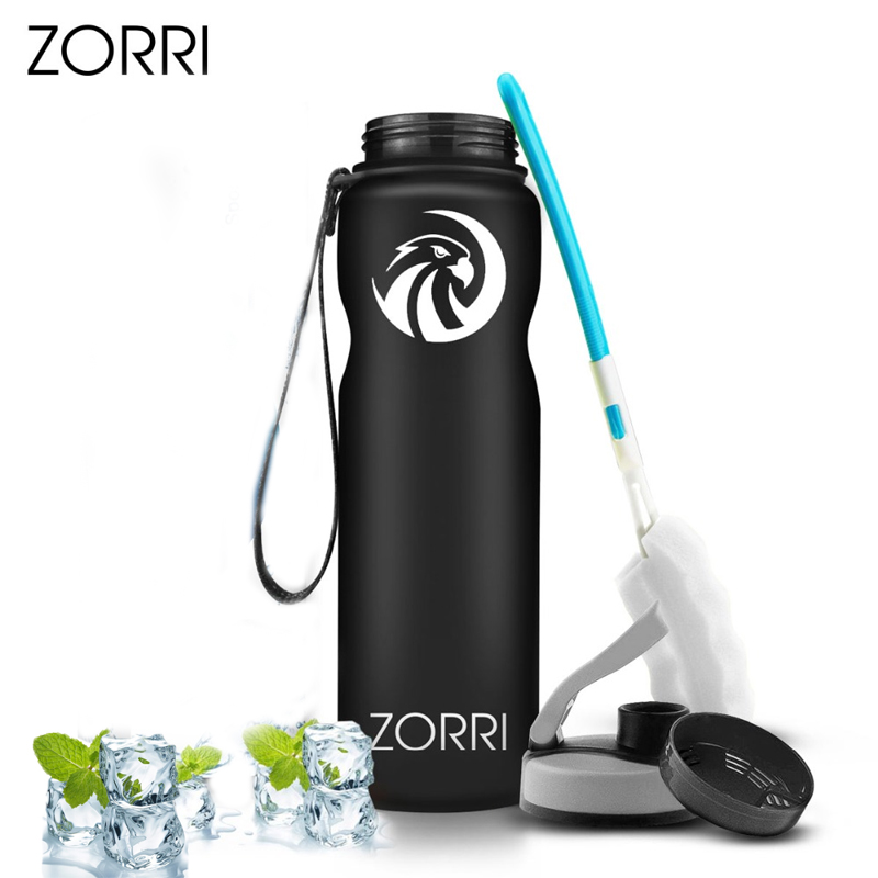ZORRI Shaker Sports Water Bottle Gym Yoga Cycling Tourism And Camping Thermos botellas para agua botella de agua|Water Bottles| |  - AliExpress