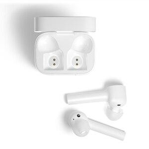 Image 5 - Original Xiaomi Mi True sans fil écouteurs Air Lite TWS Bluetooth casque AAC robinet contrôle stéréo double micro ENC avec micro mains libres