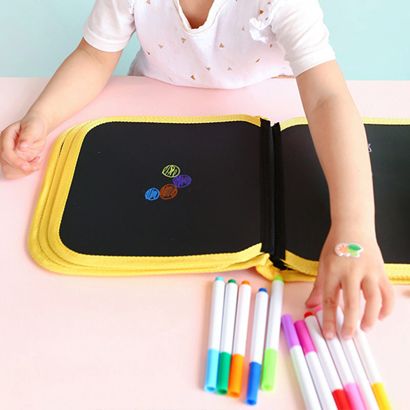 Portable Painting Book Graffiti Board Writing Pad Erasable Drawing Gift For Children FJ88