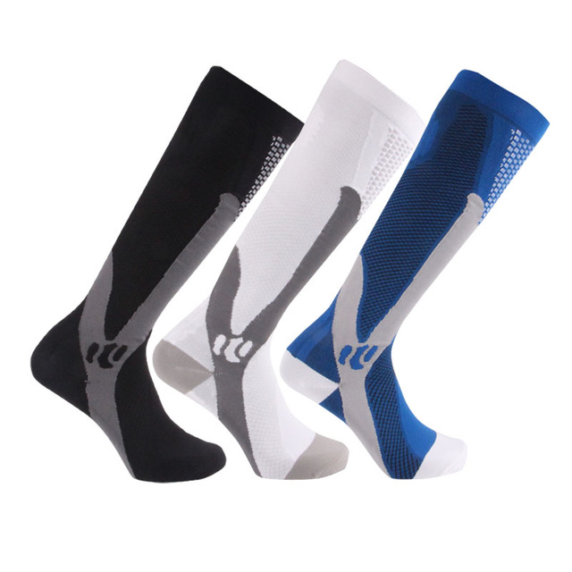 Compression Socks (3Pairs), 20-30 mmhg is BEST Graduated Athletic & Medical for Men & Women, Running, Flight, Travels Stocking 1