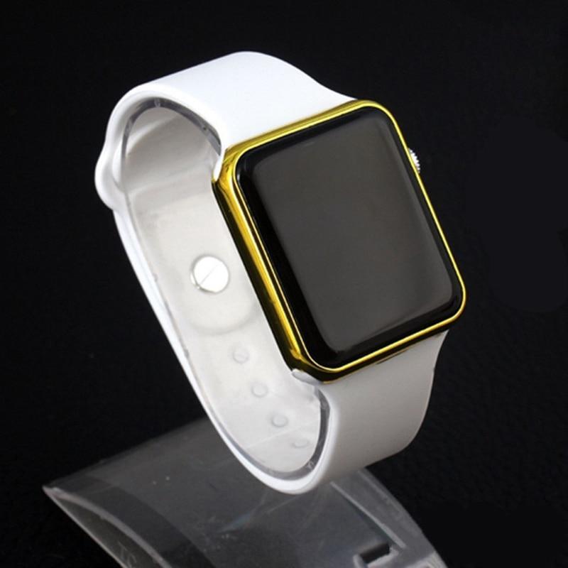 Sport Digital Watch Men Women Watch LED Electronic Watch Men's Women's Watches Ladies Silicone Band Clock Relogio Digital