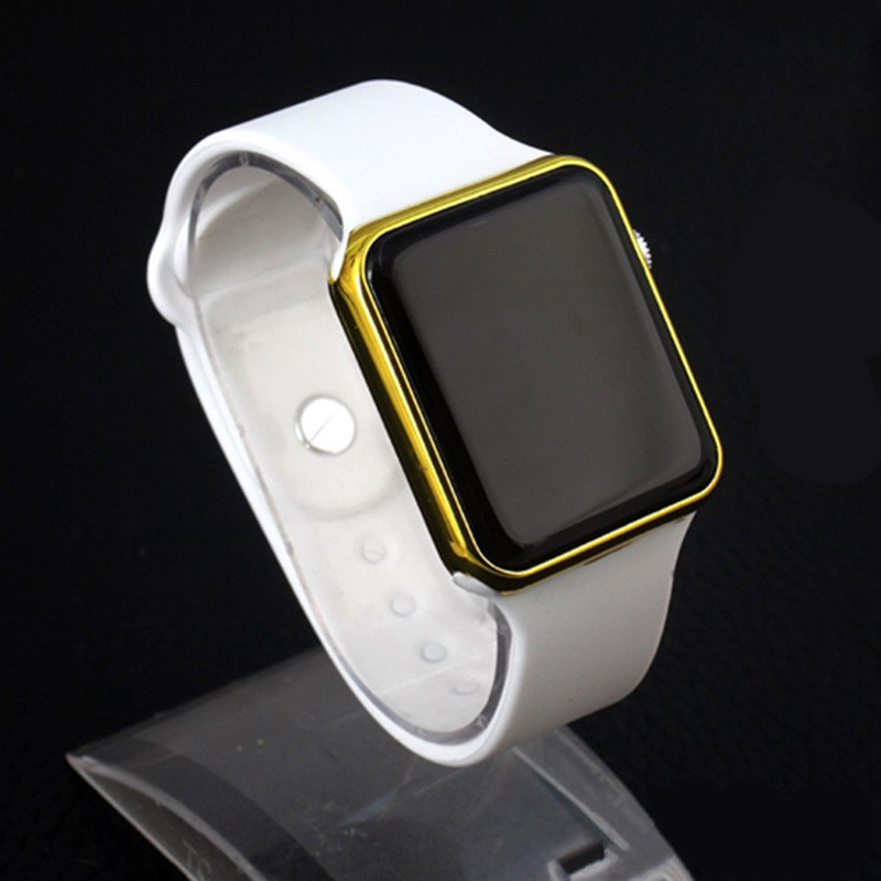 Sport Digital Watch Men Women Watch LED Electronic Watch Men's Women's Watches Ladies Silicone Band Clock Relogio Digital