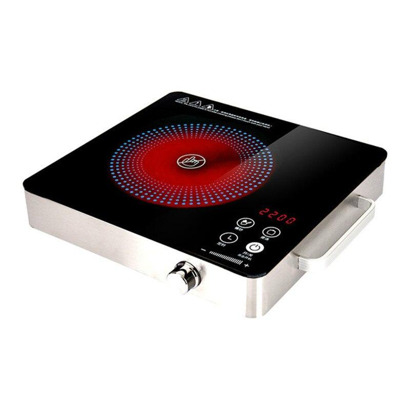 Электрическая Магнитная Водонепроницаемая индукционная плита, варочная панель, плита с таймером, керамическая нагревательная печь, варочная панель ЕС