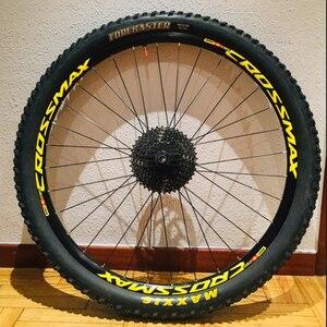 Image 2 - MAVIC CROSSMAX SL PRO MTB rad aufkleber breite 18mm PRO fahrrad rad decals bike aufkleber für zwei räder abziehbilder MTB felge aufkleber