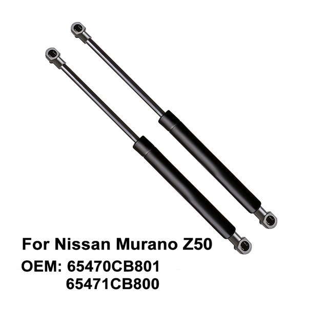 Bagaj kapağı gaz süspansiyon grubu asansör silindir desteği 65470CB801 65471CB800 Nissan Murano için Z50 2003 2007 (2 paket)