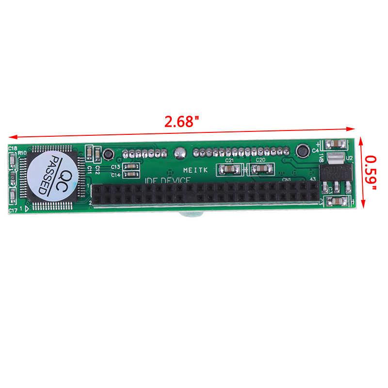 """IDE 44 pin 2.5 """"zu SATA PC Adapter Konverter 1,5 Gbit Serial Adapter Converter ATA 133 100 D CD DVD Serielle Festplatte"""