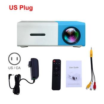 Blue US Plug
