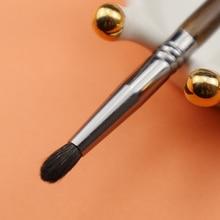 OVW pelo di capra pennello Shader a punta di precisione piccola matita naturale piega capelli di capra dettaglio trucco spazzole strumenti kist dlya teney