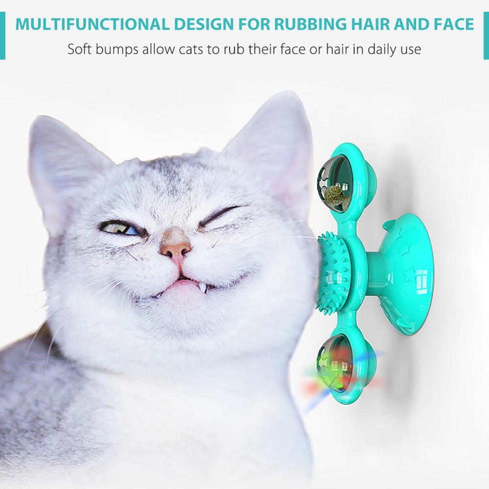 Купить кошка игрушка мельница забавные массаж вращающийся игрушки для