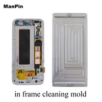 Glue Remove Mold for Note 8 Note 9 LCD Screen Display With Frame Adhesive Clean Heating Station Mould Mobile Phone Repair Tools|Phone Repair Tool Sets|   -