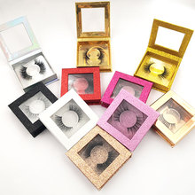 iflovedekd High quality 3D real mink lashes luxury strip custom packaging paper box
