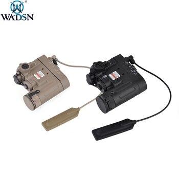 WADSN Airsoft PEQ IR Red laser Indicator DBAL-EMKII Hunting Flashlight DBAL-D2 Weapons Gun Light