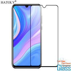 На Алиэкспресс купить стекло для смартфона 1pcs tempered glass for huawei p smart screen protector full cover for huawei p smart 2020 y8s y9s y8p y6p y5p y7p 9h 2.5d film