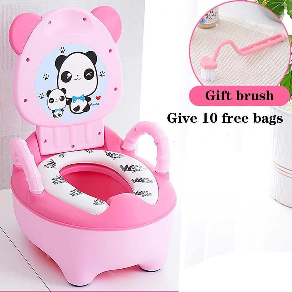 Portable Baby Pot Toilet Seat Pot For Kids Potty Training Seat Children's Potty Baby Toilet Multifunction Training Potty Toilet