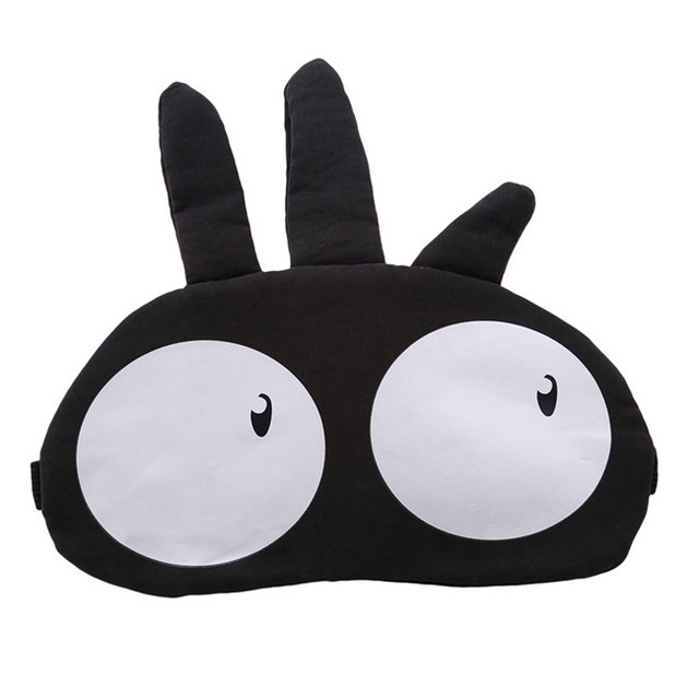 New Arrivals Korean Cute Eye Patch Soft Padded Sleep Travel Shade Cover Rest Relax Sleeping Blindfold Eye Care Tools Eye Mask 5